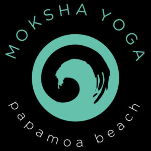 Moksha - Womens Bevel V-Neck Tee Design