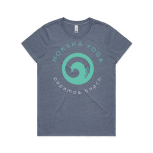 Moksha - Womens Faded Tee Thumbnail