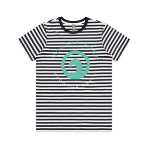 Moksha - Womens Maple Stripe Tee Thumbnail